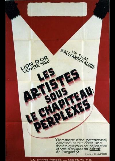 ARTISTEN IN DER ZIRKUSKUPPEL RATLOS (DIE) movie poster