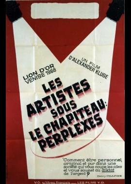 affiche du film ARTISTES SOUS LE CHAPITEAU PERPLEXES (LES)