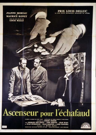 ASCENSEUR POUR L'ECHAFAUD movie poster