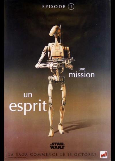 PHANTOM MENACE (THE). STAR WARS EPISODE 1 movie poster
