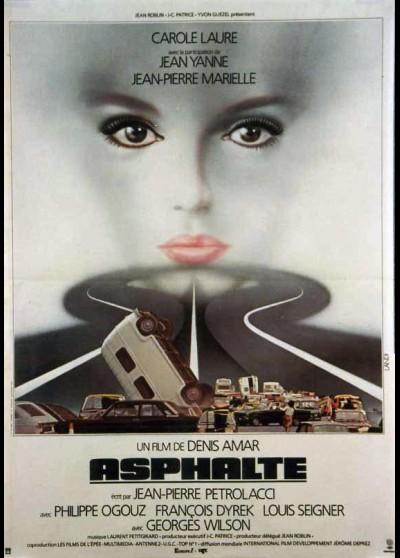 ASPHALTE movie poster