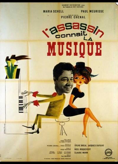 affiche du film ASSASSIN CONNAIT LA MUSIQUE (L')