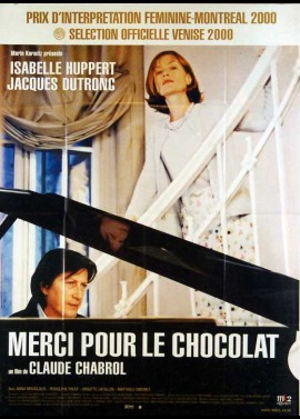 affiche du film MERCI POUR LE CHOCOLAT