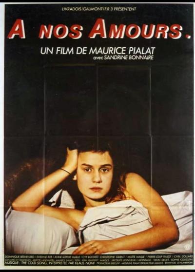 affiche du film A NOS AMOURS