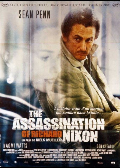 affiche du film ASSASSINATION OF RICHARD NIXON (THE)