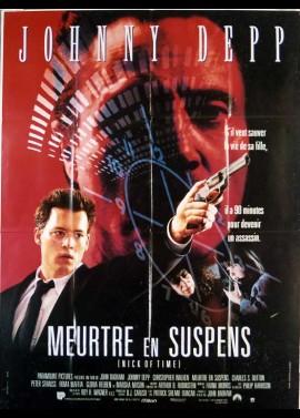 affiche du film MEURTRE EN SUSPENS