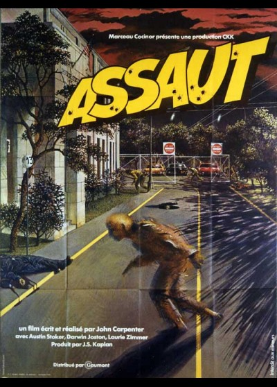 ASSAUT ON PRECINCT 13 movie poster