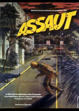 ASSAUT ON PRECINCT 13 movie poster