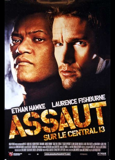 affiche du film ASSAUT SUR LE CENTRAL 13