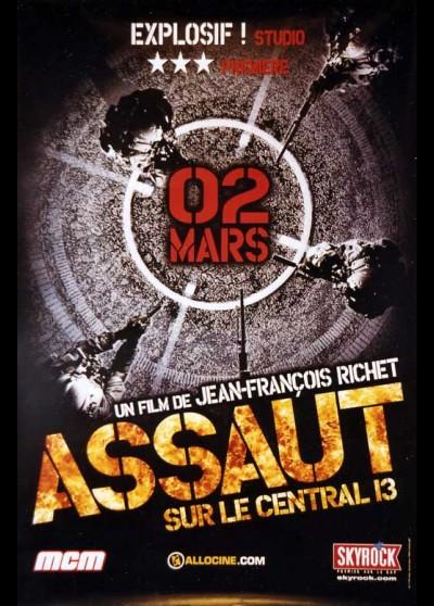 ASSAULT ON PRECINCT 13 movie poster