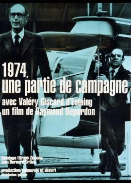 affiche du film MILLE NEUF CENT SOIXANTE QUATORZE UNE PARTIE DE CAMPAGNE
