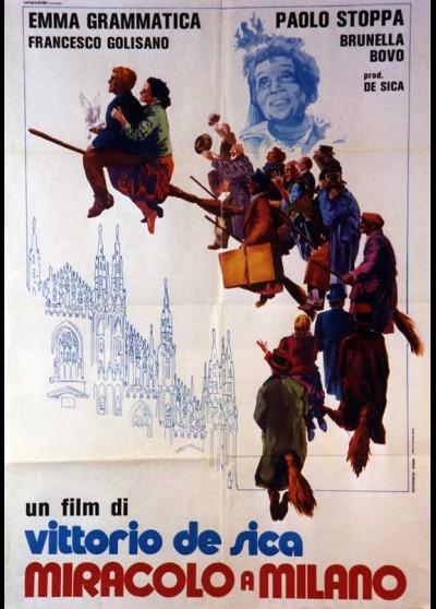 MIRACOLO A MILANO movie poster