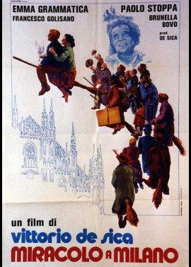 MIRACOLO A MILANO movie poster
