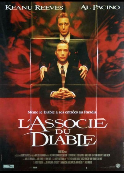 DEVIL'S ADVOCATE (THE) movie poster
