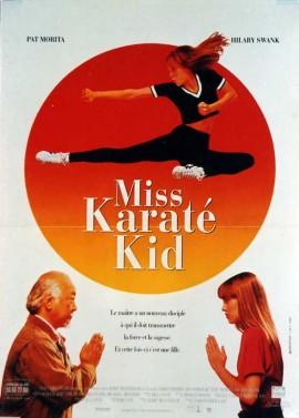 affiche du film MISS KARATE KID
