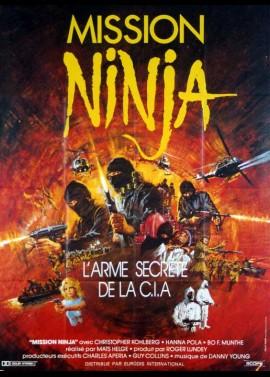affiche du film MISSION NINJA