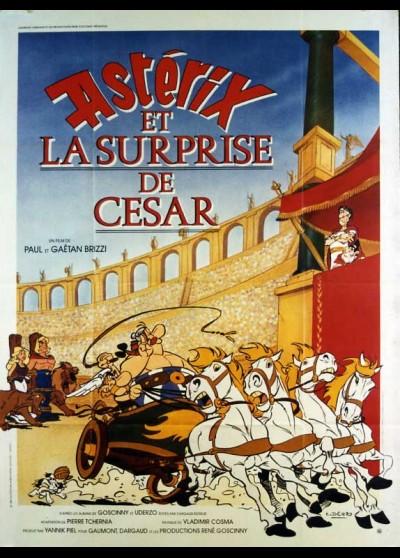 affiche du film ASTERIX ET LA SURPRISE DE CESAR