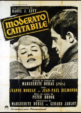 affiche du film MODERATO CANTABILE