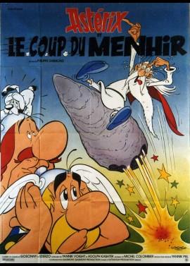 ASTERIX ET LE COUP DU MENHIR movie poster