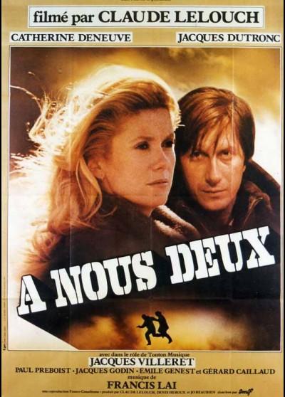 affiche du film A NOUS DEUX