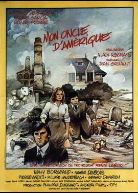 affiche du film MON ONCLE D'AMERIQUE