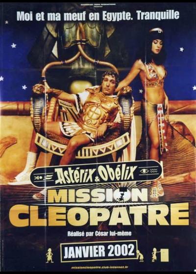 affiche du film ASTERIX ET OBELIX MISSION CLEOPATRE