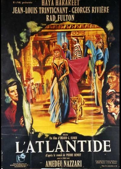 affiche du film ATLANTIDE (L')
