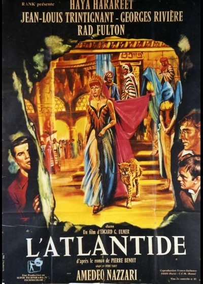 ATLANTIDE (L') movie poster