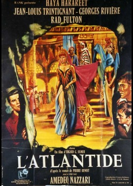 ATLANTIDE (L') movie poster