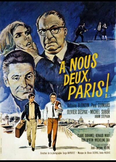 affiche du film A NOUS DEUX PARIS