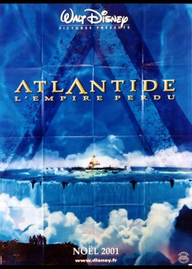 affiche du film ATLANTIDE L'EMPIRE PERDU