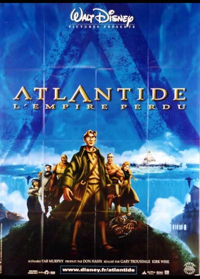 ATLANTIS THE LOST EMPIRE movie poster