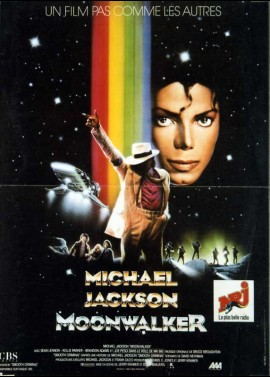MOONWALKER movie poster