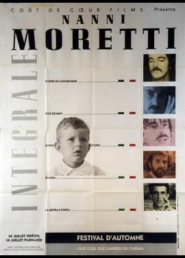 affiche du film MORETTI NANNI INTEGRALE