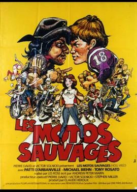 affiche du film MOTOS SAUVAGES (LES)