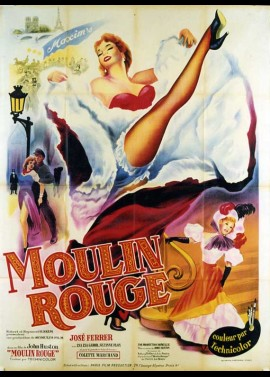 affiche du film MOULIN ROUGE