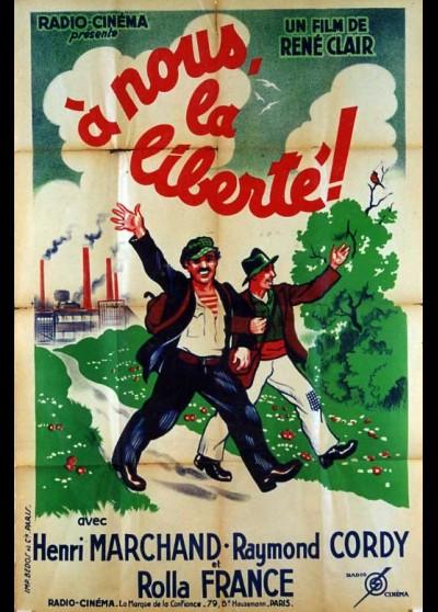 A NOUS LA LIBERTE movie poster