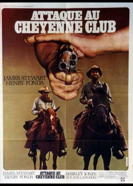 affiche du film ATTAQUE AU CHEYENNE CLUB