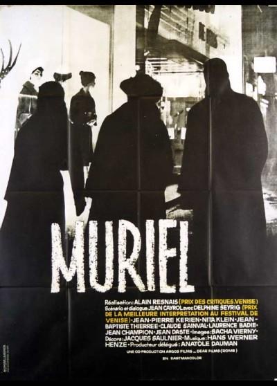 MURIEL OU LE TEMPS D'UN RETOUR movie poster