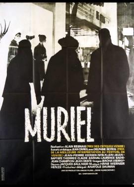 affiche du film MURIEL OU LE PEMPS D'UN RETOUR