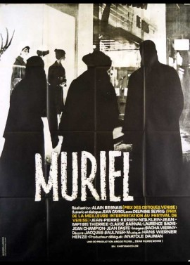 MURIEL OU LE TEMPS D'UN RETOUR movie poster
