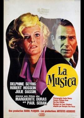 affiche du film MUSICA (LA)