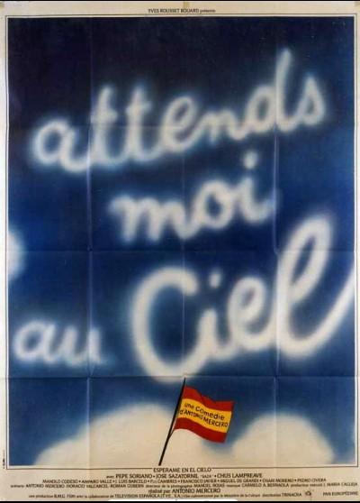 affiche du film ATTENDS MOI AU CIEL