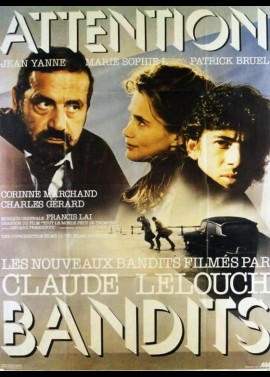 affiche du film ATTENTION BANDITS