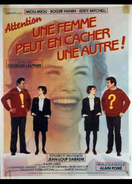 ATTENTION UNE FEMME PEUT EN CACHER UNE AUTRE movie poster