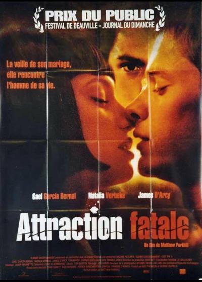 affiche du film ATTRACTION FATALE