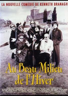 affiche du film AU BEAU MILIEU DE L'HIVER