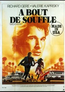 affiche du film A BOUT DE SOUFFLE MADE IN USA