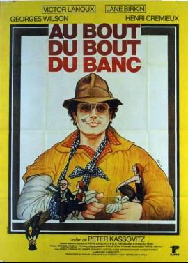 AU BOUT DU BOUT DU BANC movie poster