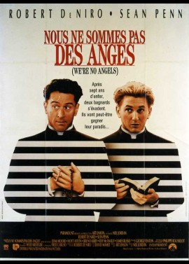 WE'RE NO ANGELS movie poster